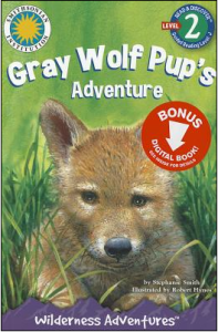 Grey Wolf Pup's Adventure